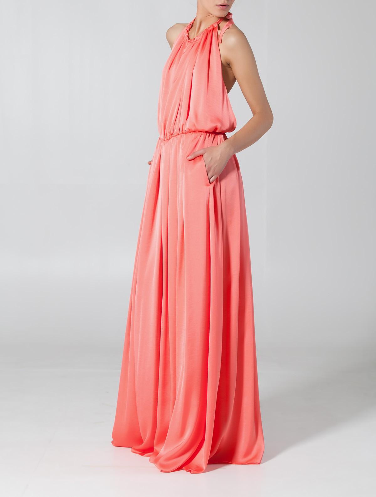 rochie lunga de seara eleganta