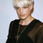 Par blond scurt