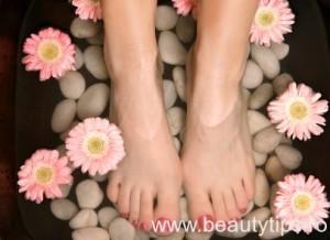 Aromatic relaxing foot bath pedispa