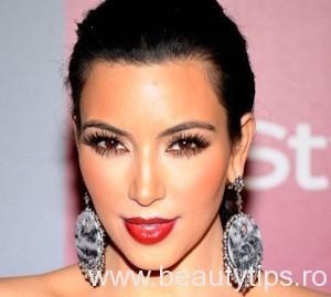 Kim Kardashian machiaj
