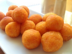Bulete de cartofi prajiti