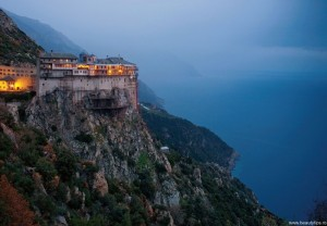 Muntele Athos Grecia