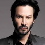 Keanu Reeves cu barbă