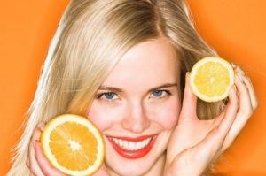 Masca de portocala pentru ten