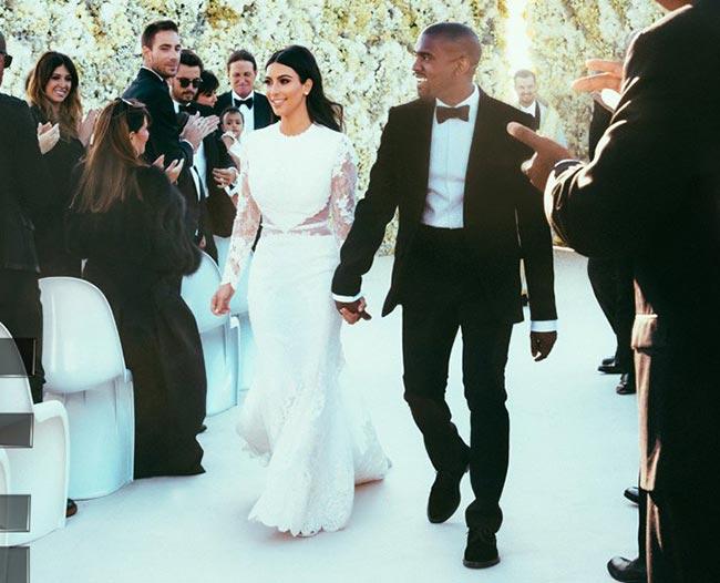 Rochie de mireasa Kim Kardashian