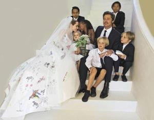 Rochie de mireasa Angelina Jolie