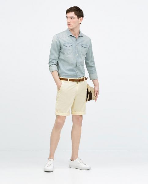 pantaloni scurti chino