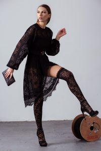 Rochie elegantă din dantelă Disponibilă pe: stadaboutique.ro