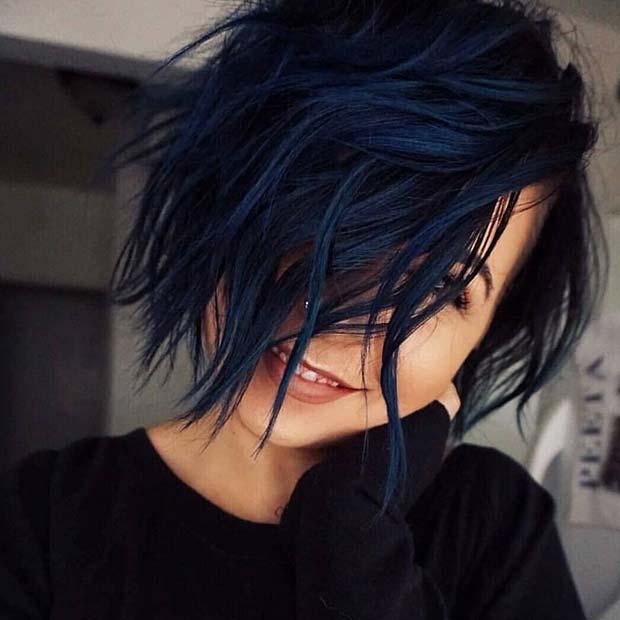 par negru albastrui