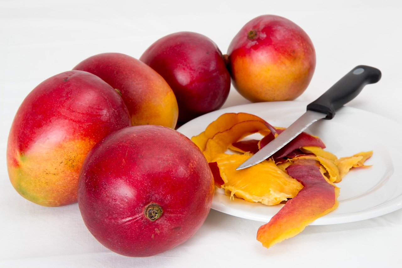 coaja de mango